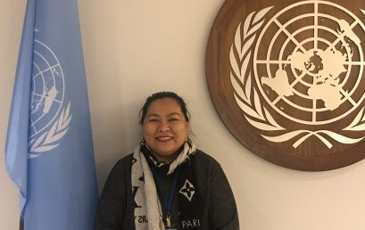 Strategic Partnerships director attends UN meeting as delegate