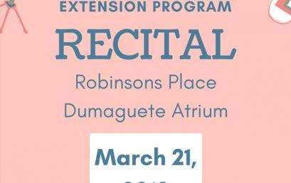 SU COPVA Extension Program Recital