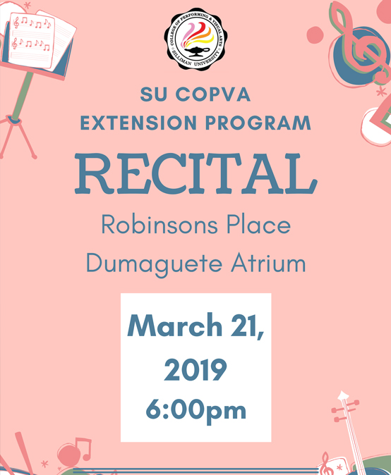 SU COPVA Extension Program Recital
