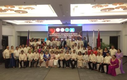 SU concludes leadership training with Bohol mayors, health officers