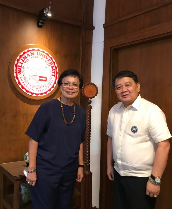 CHED-7 RD visits Silliman