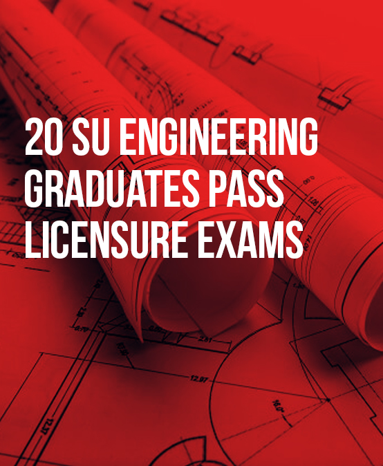 20 SU Engineering graduates pass licensure exams