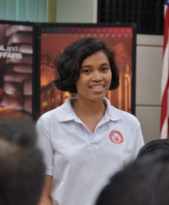 Junior SPAG student joins UN initiative