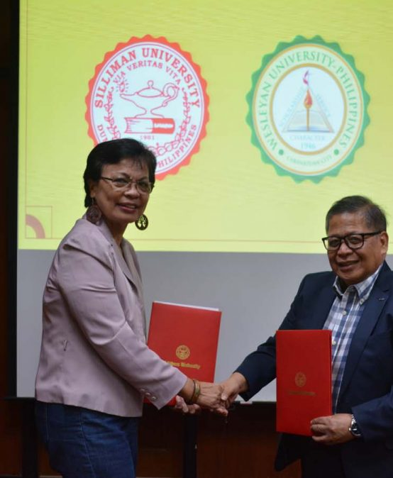 SU signs MOU with Wesleyan University-Philippines