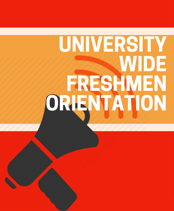University-Wide Freshmen Orientation