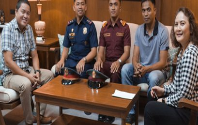 PNPA officers visit SU