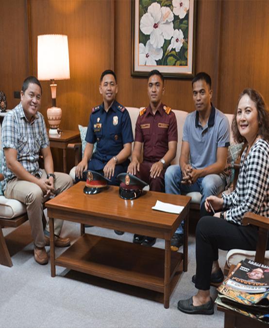 PNPA officers visit SU