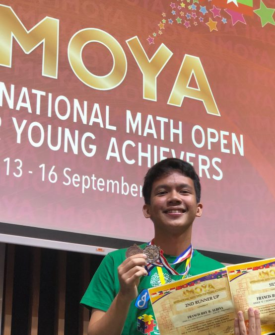 SHS student bags silver, bronze in int'l math contest