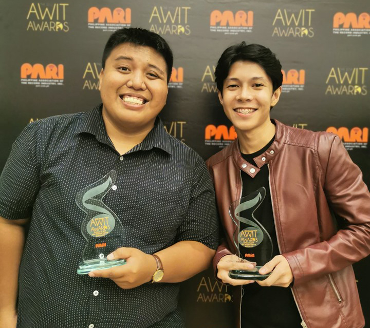 Masscom alum bags Awit Award for Best Regional Recording