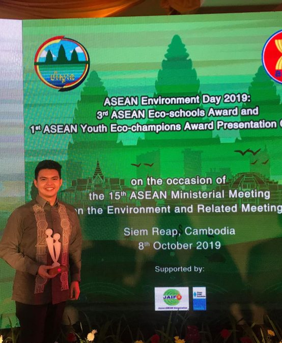 CMC alum receives 1st ASEAN Youth Eco-Champion Award for PH