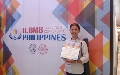 Chem faculty wins best research poster in biochem confab