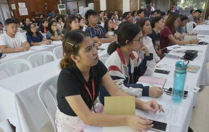 MTRCB conducts forum in SU