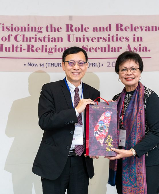 SU prexy attends confab in Taiwan