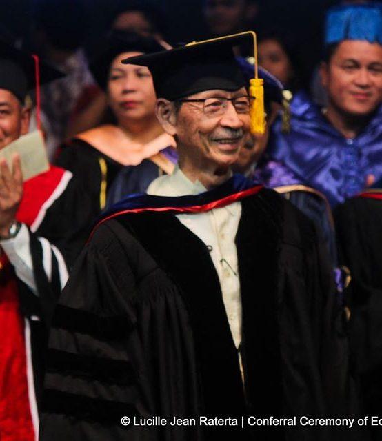 Remembering SU honorary doctorate recipient, National Scientist Edgardo D. Gomez