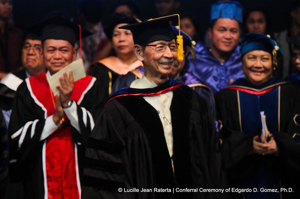 Remembering SU honorary doctorate recipient, National Scientist Edgardo D. Gomez