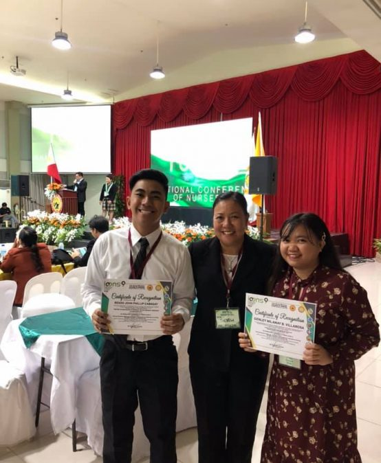 SU nursing students' papers win int'l recognition