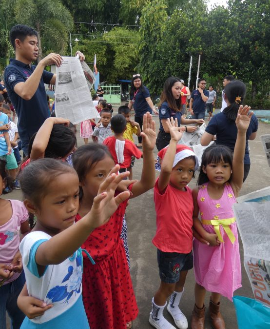Salonga Center conducts Christmas outreach at elementary school