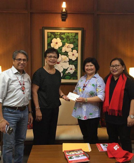 SUAASC donates $5k for admin building elevator