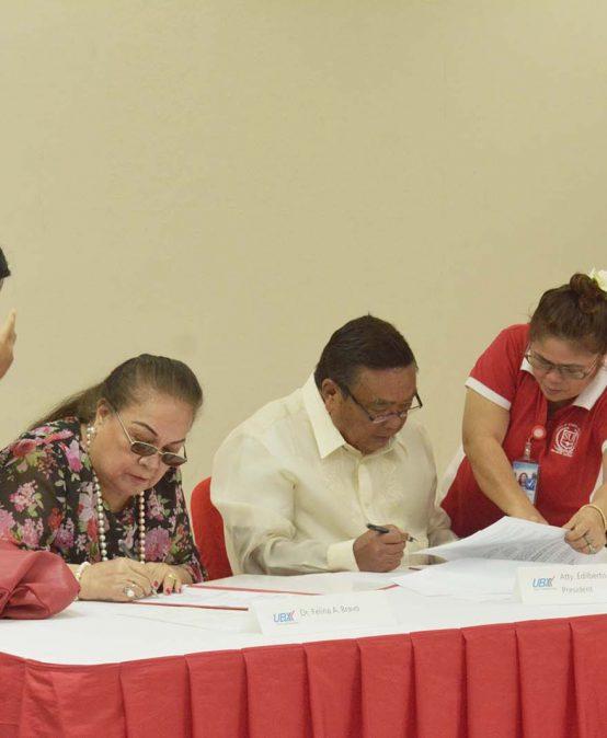 SU, U-Bix Corp signs Deed of Donation for Technopreneur Center