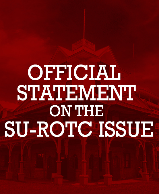 Official Statement on the SU-ROTC Issue