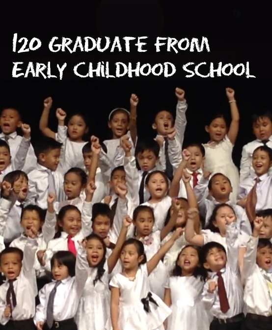 120 pupils graduate from SU Early Childhood School