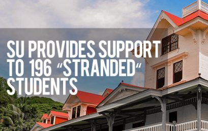 """SU provides support to 196 """"stranded"""" students"""