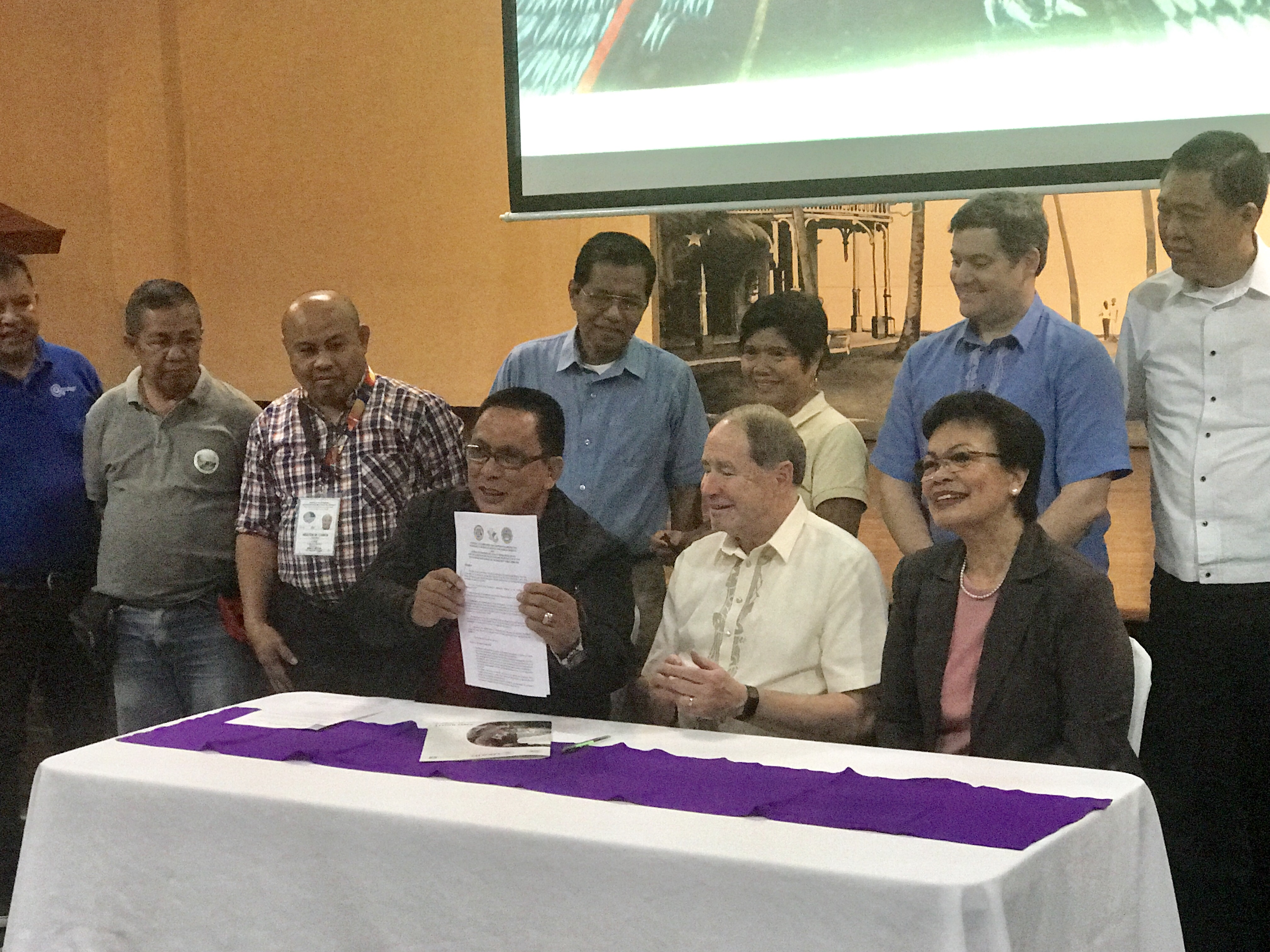 SU partners with USAid, BFAR to protect South Negros fisheries