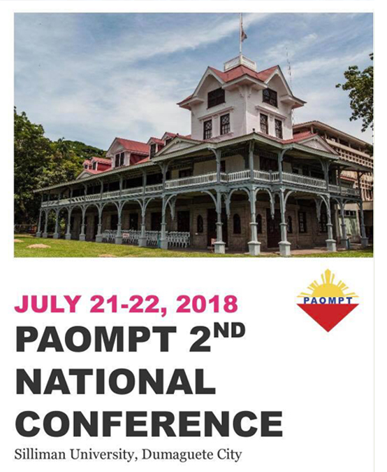 PAOMPT 2nd National Conference