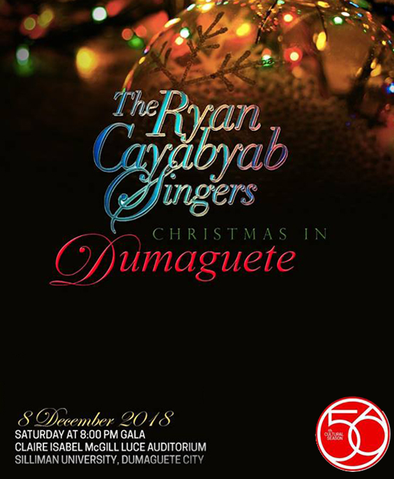The Ryan Cayabyab Singers Christmas in Dumaguete