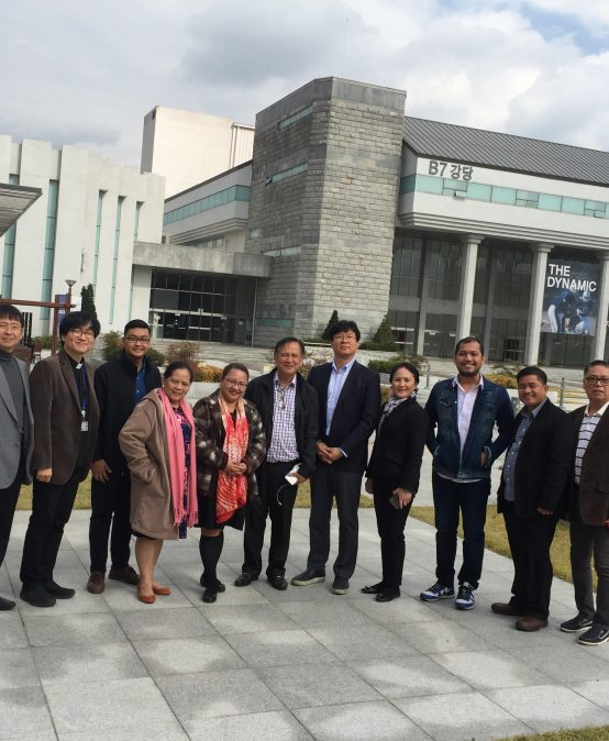 Dean of Students Joins Study Visit, Benchmarking in Seoul