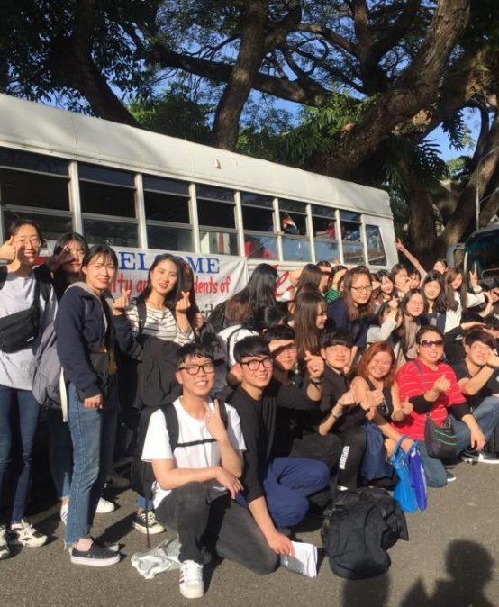 64 Students from Korean University Study English, Business in Silliman
