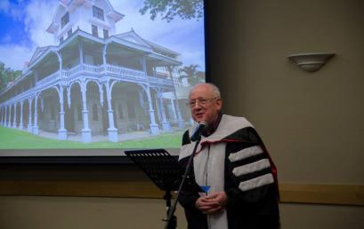 Silliman Confers Honorary Degree on New Zealander Philanthropist