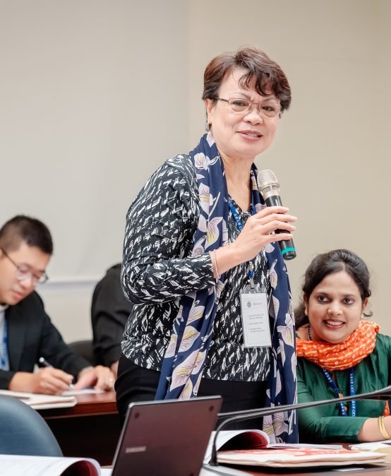 Pres. McCann presents paper at TaiCUCA international consultation