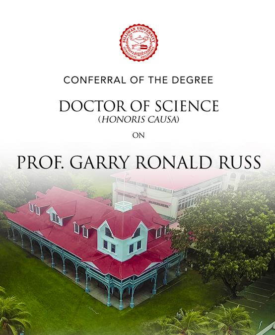 Garry Ronald Russ Conferral