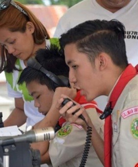 Silliman junior scouts win second place in jamboree-on-the-air
