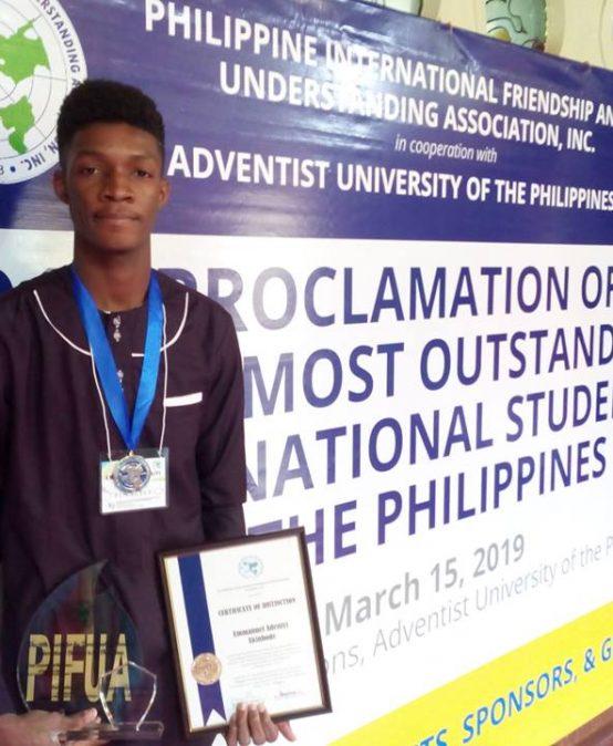 Sillimanian wins outstanding international student award