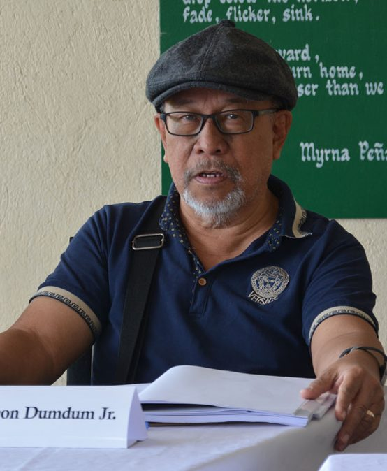 National Artist discusses Visayan poetry with SU National Writers fellows