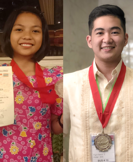 SU students win silver, bronze in international math competition