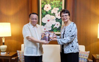 Chief Justice Bersamin visits SU