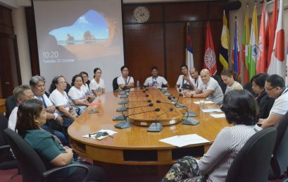 SU welcomes Southern Leyte State University in benchmarking activity