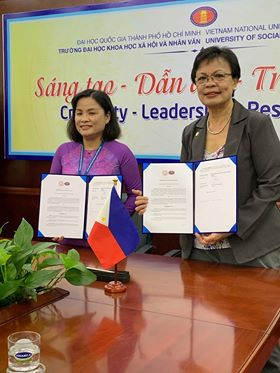 SU inks MOU with Vietnam uni
