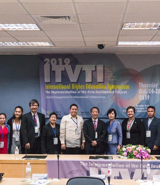 VPAA keynotes International Education Symposium in Taiwan
