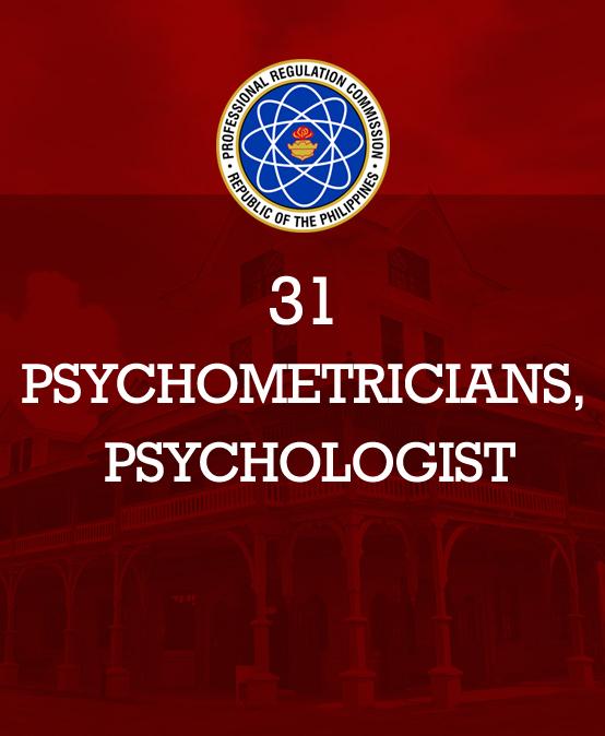 SU produces 31 psychometricians, psychologist