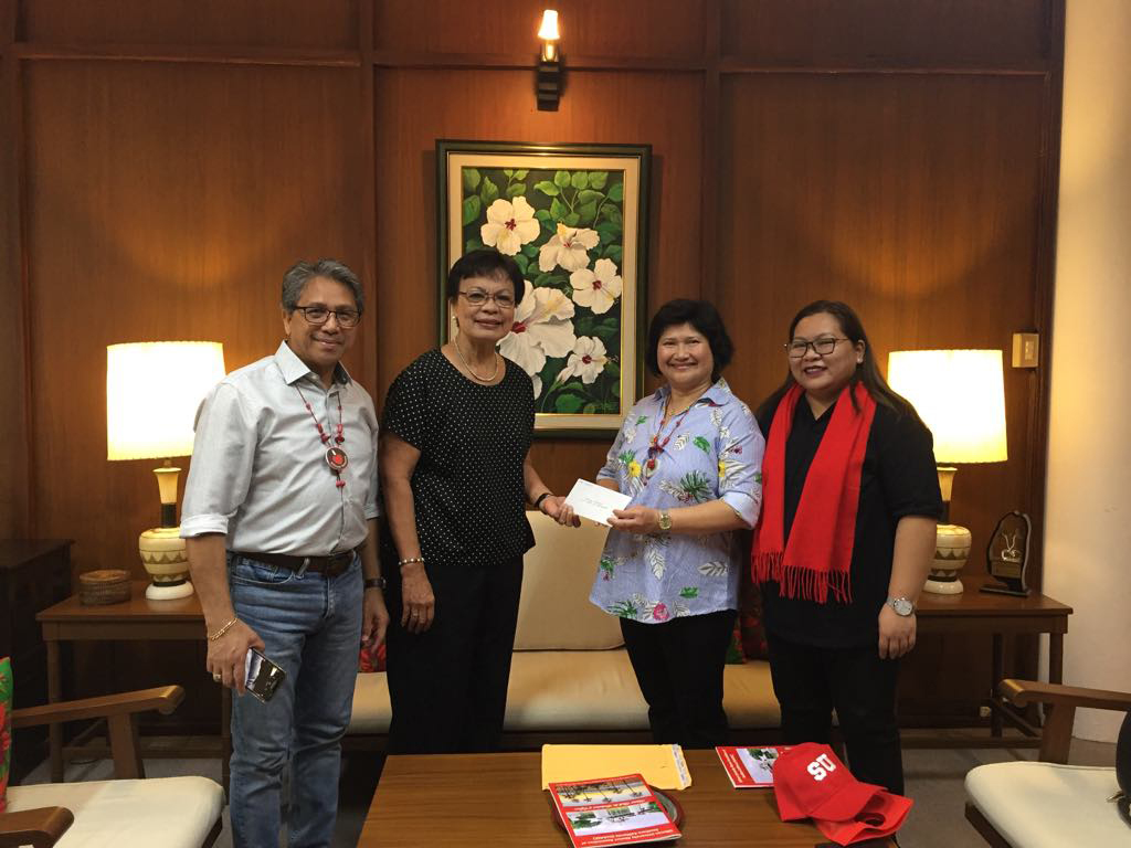 SUAASC donates $5k for admin building elevator