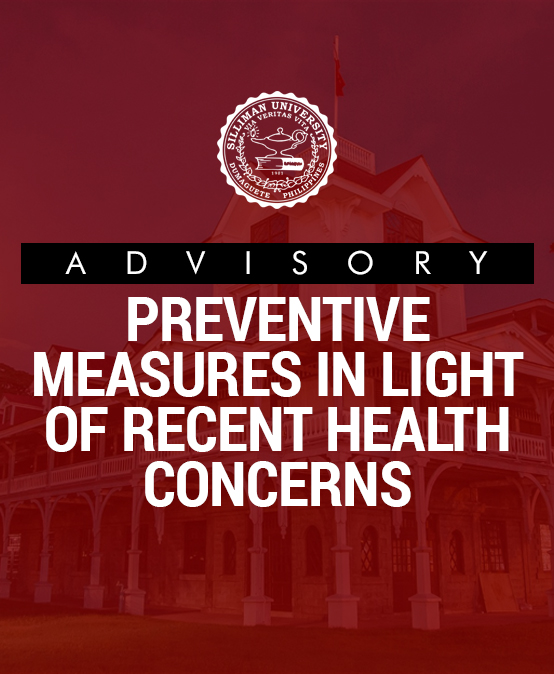 Advisory in Light of Recent Health Concerns