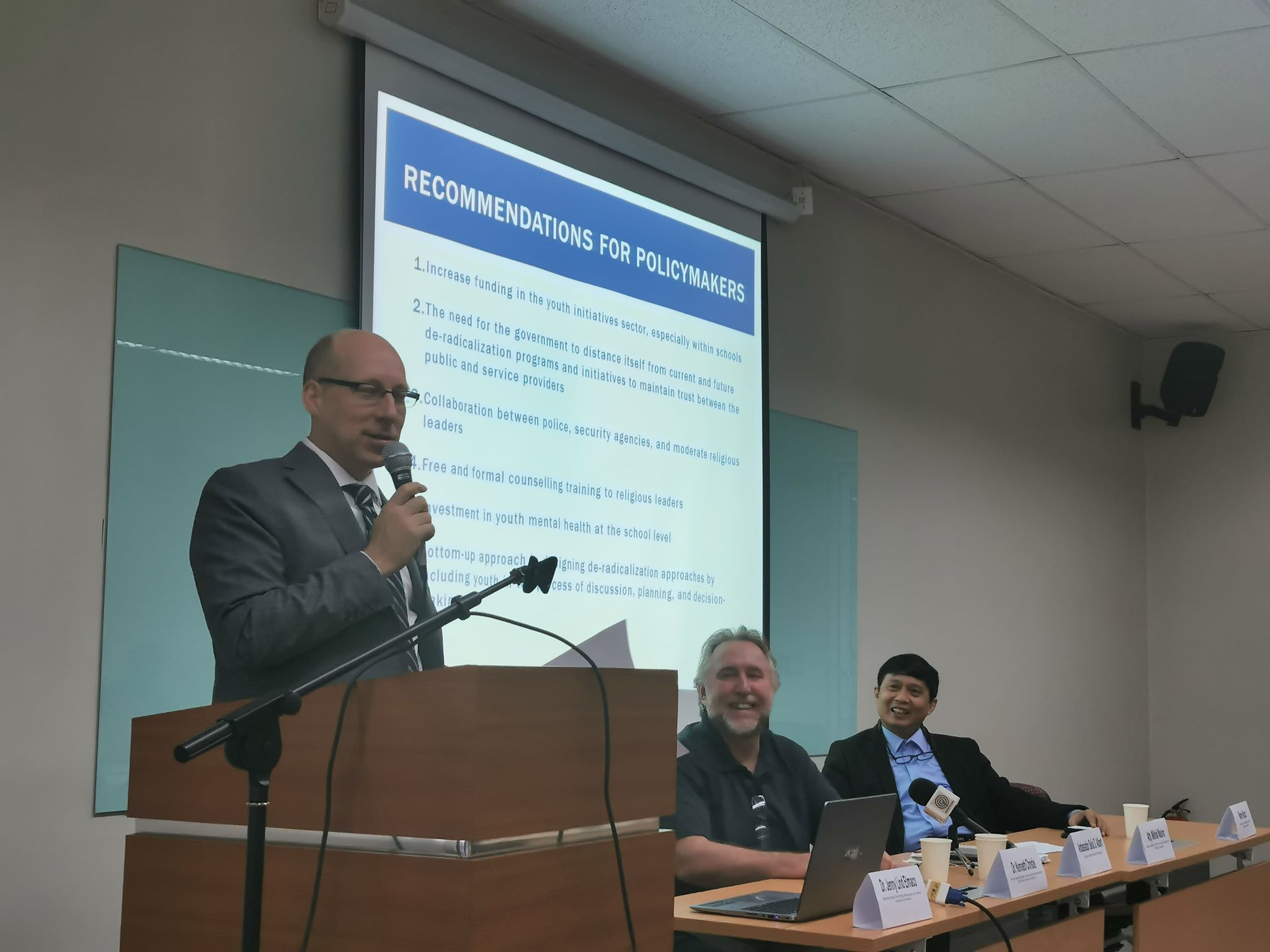 Silliman U, Canadian Embassy organize forum on Radicalization in Southeast Asia