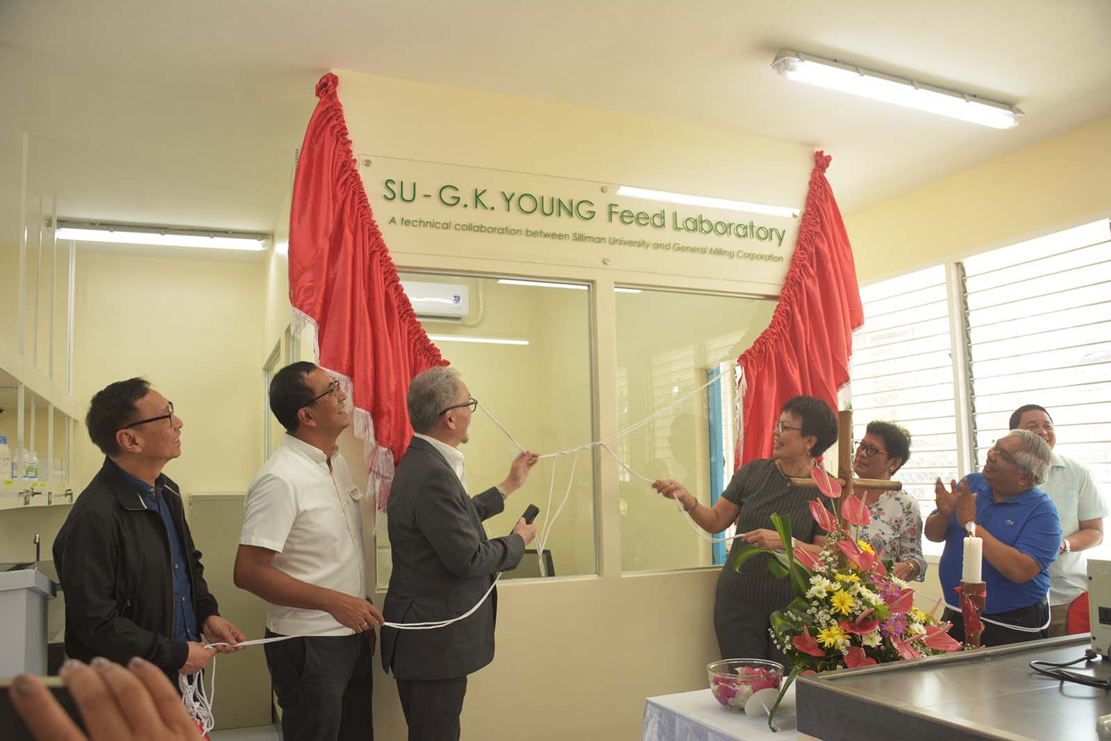 SU, General Milling Corp unveils feed lab