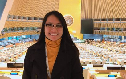 SUSG prexy attends youth summit in NYC