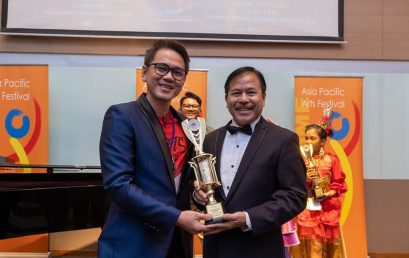 Faculty named 1st runner-up in Asia Pacific Arts Festival