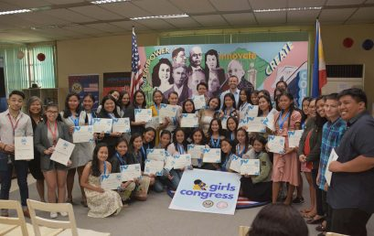 SU, US Embassy conclude first Girls Congress
